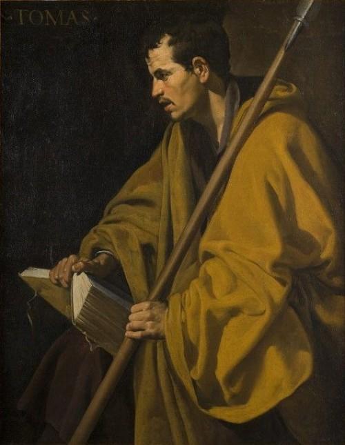 "Diego Velázquez [Public domain], <a href=""https://commons.wikimedia.org/wiki/File:Santo_Tom%C3%A1s,_por_Diego_Vel%C3%A1zquez.JPG"" target=""_blank"">via Wikimedia Commons</a>"