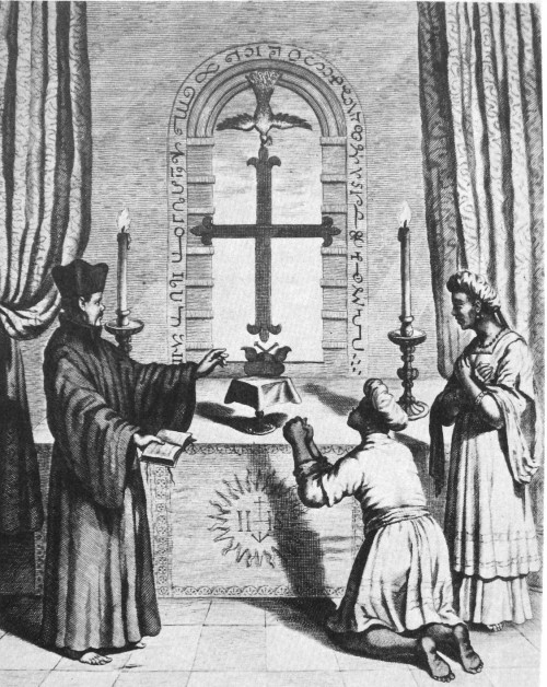 """See page for author [Public domain], <a href=""""https://commons.wikimedia.org/wiki/File:ShrineOfSaintThomasAtMeliapore18thCentury.jpg"""" target=""""_blank"""">via Wikimedia Commons</a>"""