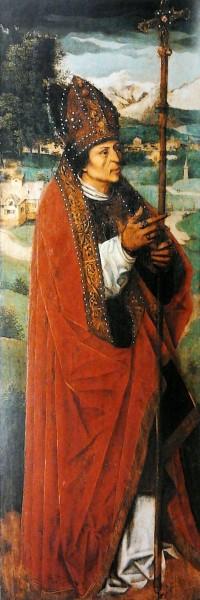 "Ambrosius Benson [Public domain], <a href=""https://commons.wikimedia.org/wiki/File:Benson_Saint_Leander.jpg""  target=""_blank"">via Wikimedia Commons</a>"