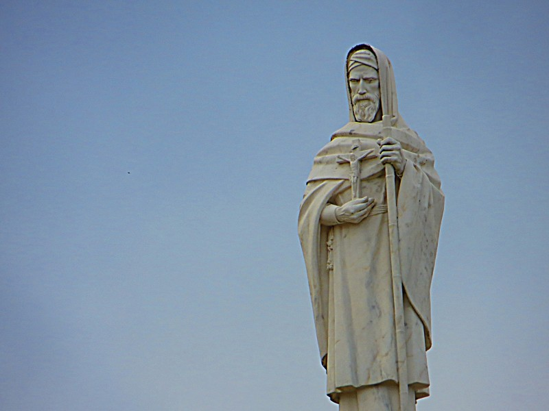 """Saint John de Britto, also known as Arul Anandar, was a Portuguese Jesuit missionary and martyr, often called 'the Portuguese St.Francis Xavier' by Indian Catholics. He can be called the John the Baptist of India.    <a href=""""https://commons.wikimedia.org/wiki/File:Santu%C3%A1rio_de_F%C3%A1tima_-_panoramio_(5).jpg"""" title=""""via Wikimedia Commons"""" target=""""_blank"""">Mister No</a> [<a href=""""https://creativecommons.org/licenses/by/3.0"""" target=""""_blank"""">CC BY</a>]"""